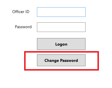 FireApp Change Password Button