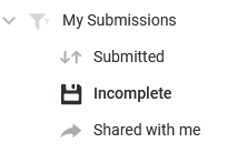 My Submissions